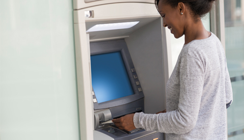 Several of the different options of MCB ATM's