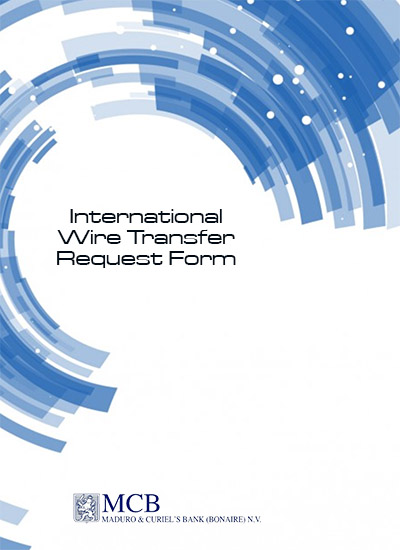 International Wire Transfer Request Form